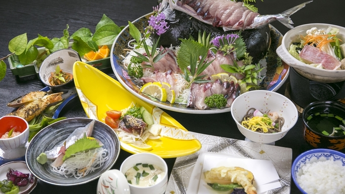 足摺岬で一本釣りされた「土佐清水サバ」を堪能できる美味プラン 【自然・体験型観光☆こじゃんと旨い】