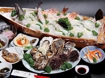 活貝&舟盛料理