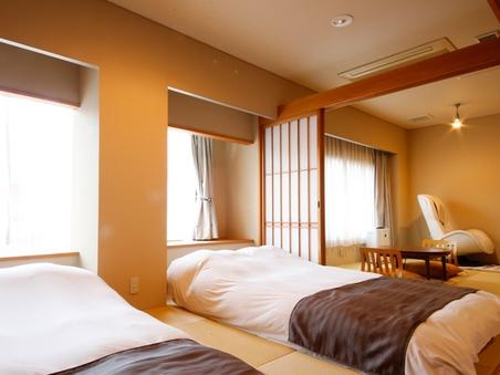 202 【禁煙】 温泉露天風呂付き和室 和ベットタイプ