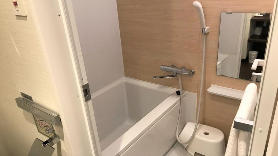 【お風呂】洗い場付き!ゆったりとご入浴いただけます。