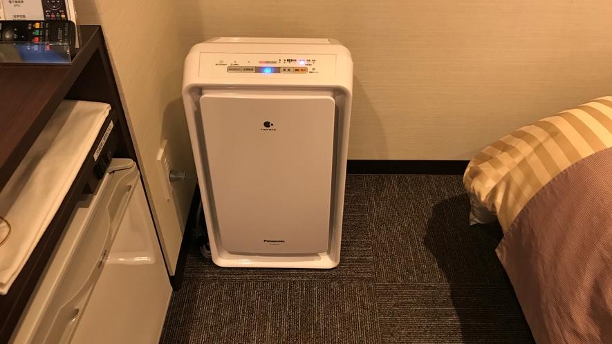 加湿空気清浄機で、うるおう清潔な空間でお過ごしください。