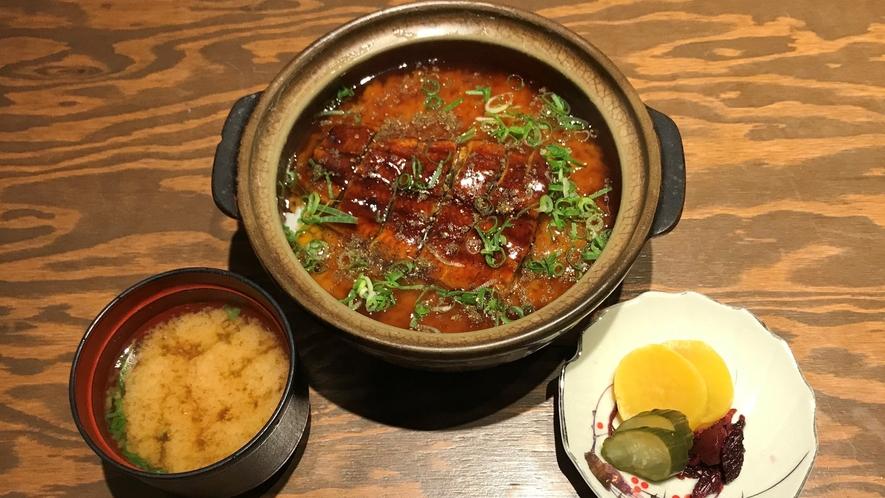 【あやの食堂/夕食一例】うなぎ御飯