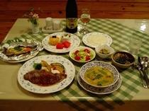 ある日の夕食例