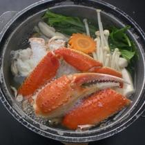 カニ鍋一例