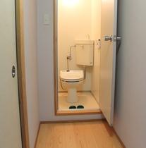 全室、温水洗浄式トイレ完備