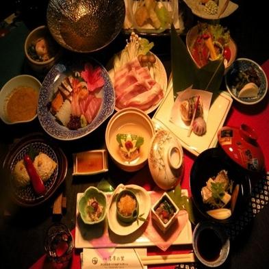 【夕食個室】季節にあわせた会席料理フルコース・カップル&乙女会におすすめ♪