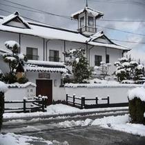 めったに見れない雪景色の【薩摩の里】