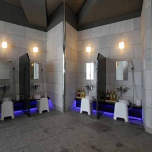 【大浴場】洗い場②