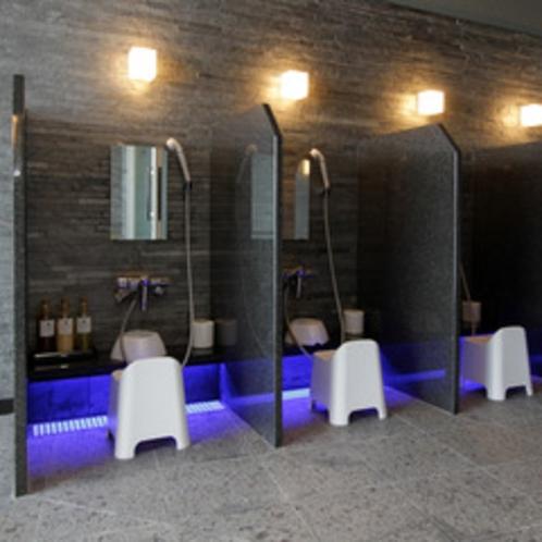 【大浴場】洗い場①