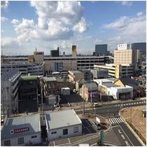 【客室からの眺望】最上階(8階)からの景色です。