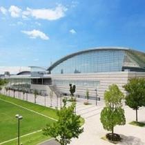 【刈谷市総合運動公園】ホテルから車で約15分。様々なスポーツイベントが開催されます。