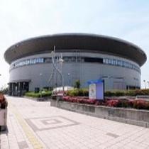 【日本ガイシホール】ホテルから車で約30分。コンサート等イベントが行われます。
