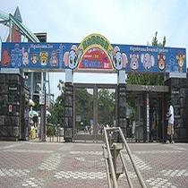 【東山動植物園】ホテルから車で約45分。人気者のコアラやキリン、約500種の動物を展示しています。