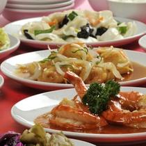*本場中国で修行を重ねたシェフの中国料理をお召上がり下さい(料理一例)