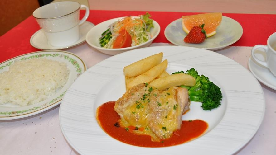*洋夕食(一例)