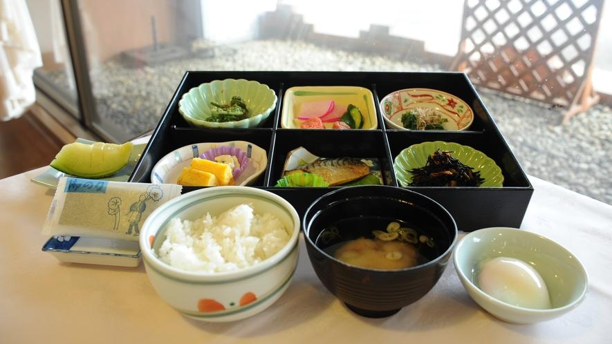 *【選べる朝食】和食メニュー