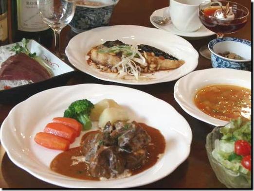 夕食のみ牛フィレ肉のトルネードステーキや和牛ビーフシチューや福島黒毛和牛など選べるディナープラン