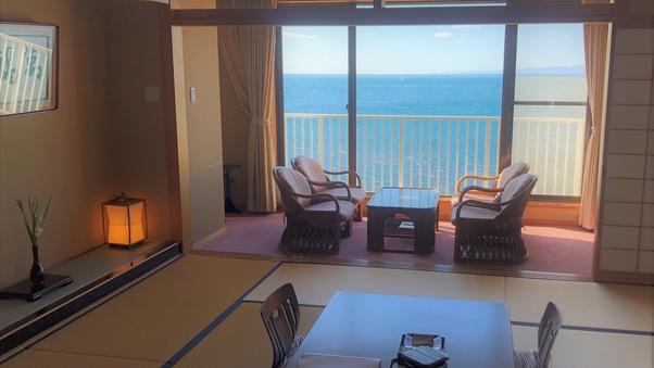 海景と夕陽にうっとり♪新館和室12,5畳【4室限定】