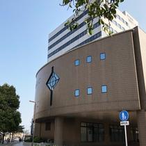 ◆ビジネス、訪問◆福岡県中小企業振興センター(JR吉塚駅から徒歩1分。宿から徒歩7分程度)