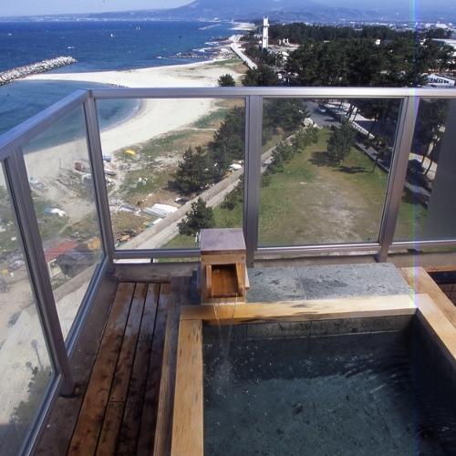 13畳・客室露天風呂