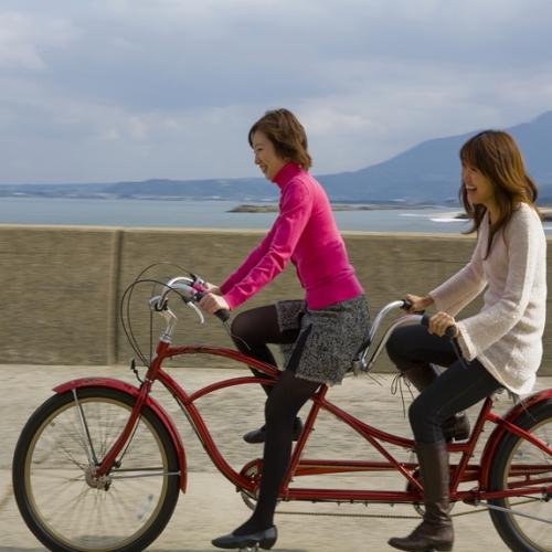 自転車でスイスイ!