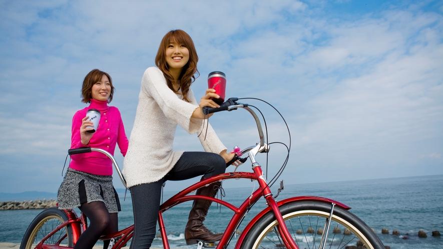 自転車でお散歩