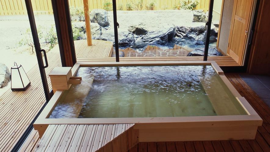 檜風呂(露天)