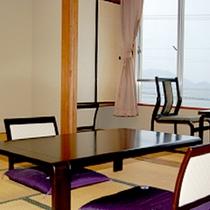 【別館・華双寿和室一例】お部屋はオーシャンビュー。当館より徒歩1分です。