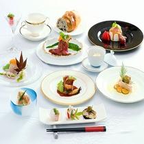 【西洋懐石】若狭の旬食材をふんだんに使用。お箸で食す洋食コース