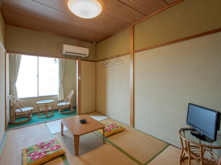 【喫煙】和室1〜2名様(バス・トイレなし)(1-2)
