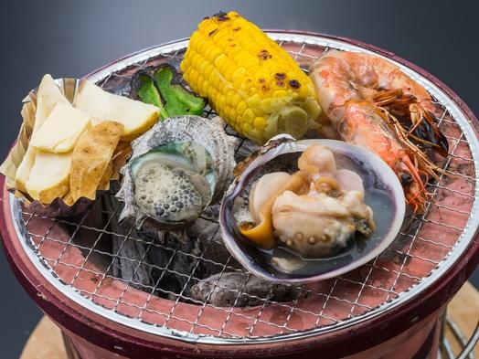 【1日3組限定】個室で海鮮炭火焼・伊勢海老姿造りプラン【二食付き】
