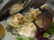 貝のお刺身