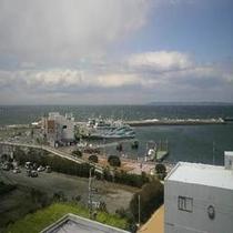 伊良湖の港