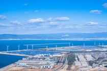蔵王山展望台からの眺望