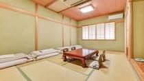 *和室12畳/純和風の客室は気品ある落ち着いた風情。ファミリーやグループでのんびりお過ごし下さい。