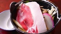 *しし鍋(お夕食一例)