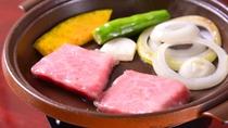 *飛騨牛(お夕食一例)
