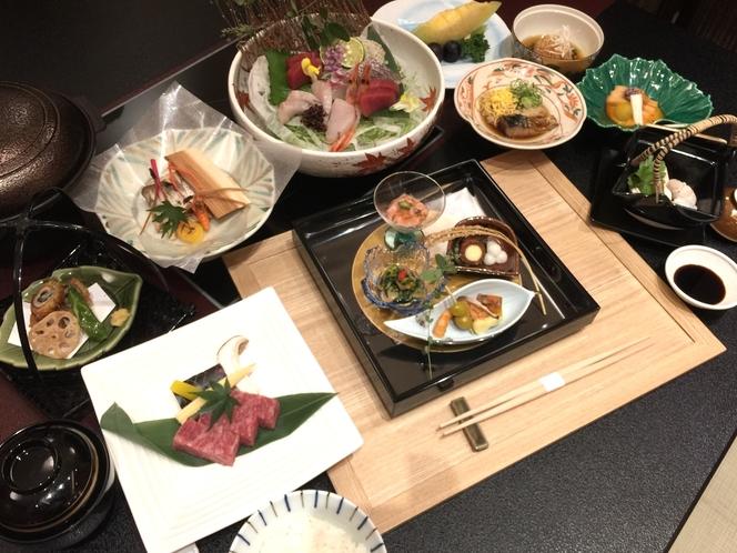 秋の贅沢会席料理