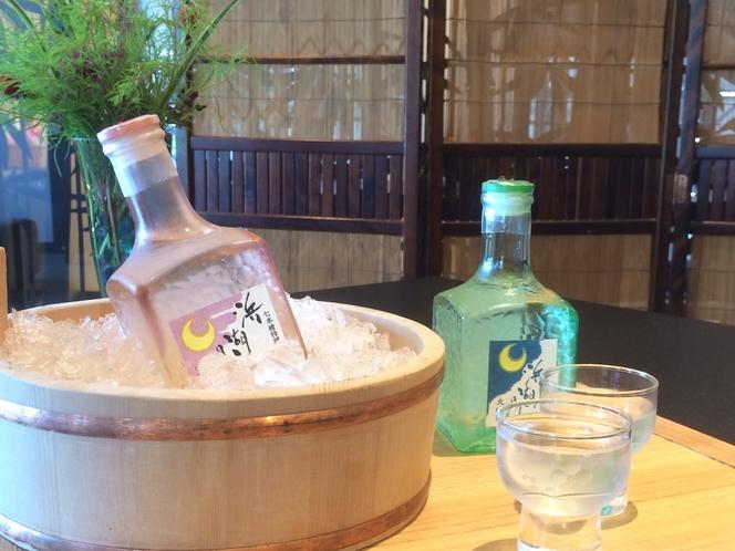 宿オリジナルの大吟醸酒