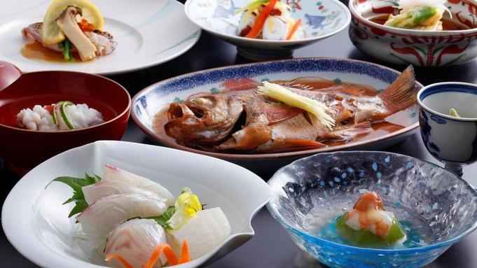 【海鮮会席】常連様ご満足の新鮮魚介の味【8畳・お部屋食】