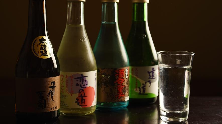 【地酒】日本酒を中心に、丹後の銘酒が揃っております!