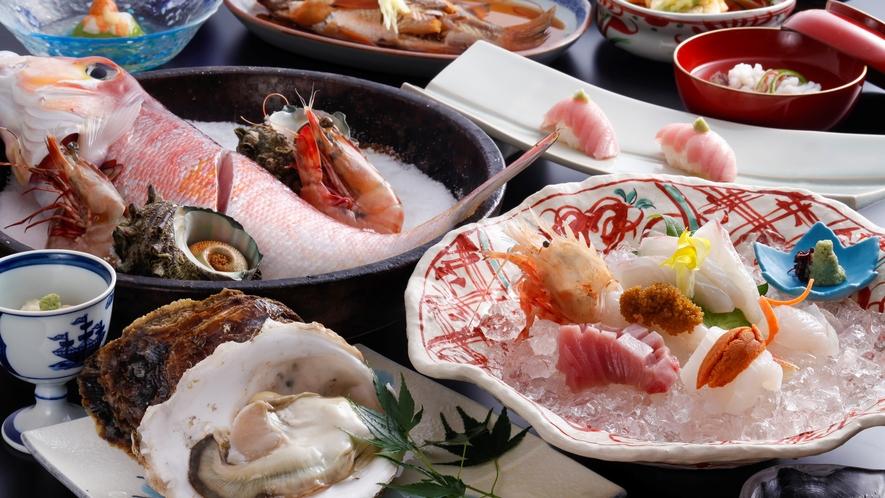 【海鮮スペシャル】天然モノを味わう海鮮スペシャル(夏の一例)