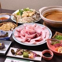 *お夕食一例(しし鍋)