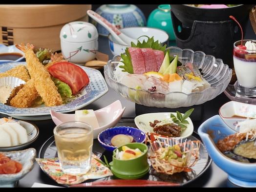 ◆季節の海山会席◆体に優しい食材を美味しく食す♪壮大な世界遺産を巡る旅