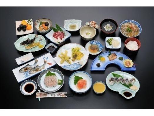 〜☆川魚大好きな方に絶対お薦め!!当宿自慢の新鮮あまごを使ったフルコース♪
