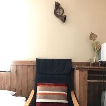 *[2階/禁煙・ベッドを2台配した洋室8畳(205)]シンプルだけど温かみのある洋室8畳の客室です