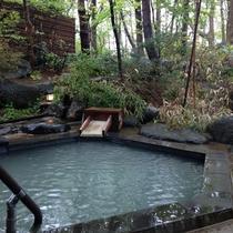 *[マグマの湯/露天風呂]松川より引いている源泉掛け流しの「単純硫黄泉」をゆっくりとご堪能下さい
