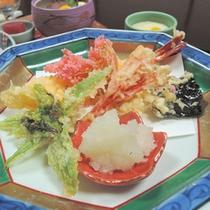 【天ぷら盛り合わせ】