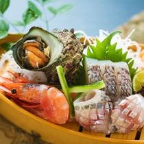 """■朝獲れ鮮魚""""舟盛り""""■"""