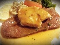 【プレミアムプランの夕食】はこだて和牛のステーキフォアグラ添え